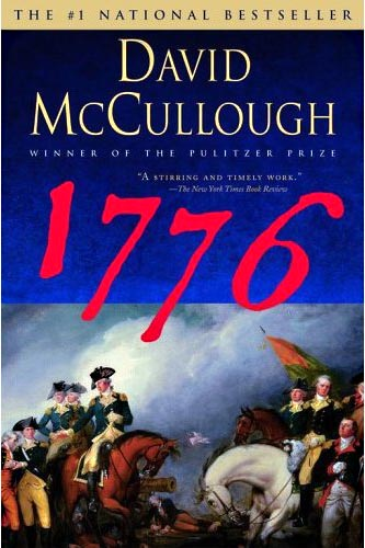 1776 book review In the novel 1776 by david mccullough, the author describes the first year of the revolutionary war in astonishing detail beginning with the battles of lexington and.