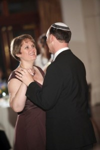 Dancing with my mom at our wedding in 2009.