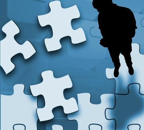 Pieces to a scattered puzzle yinon blog for Peculiarity crossword clue